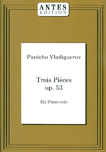 3 Pieces opus.53: for piano