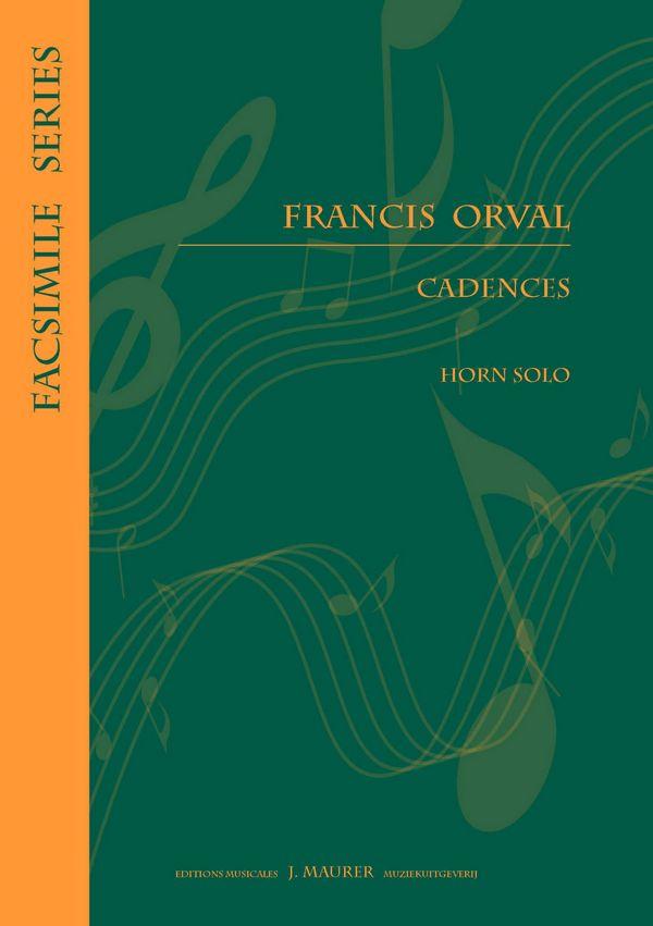 Cadences: for horn