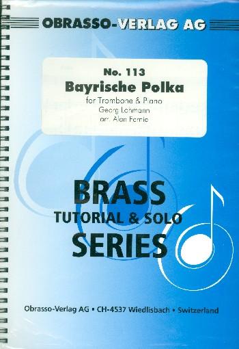 Bayrische Polka: für Posaune und Klavier