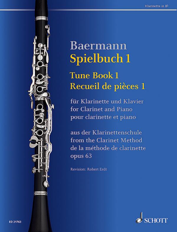 Spielbuch Band 1 aus der Klarinettenschule op.63: für Klarinette und Klavier