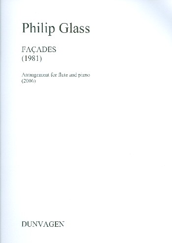 Facades (1981): for flute and piano