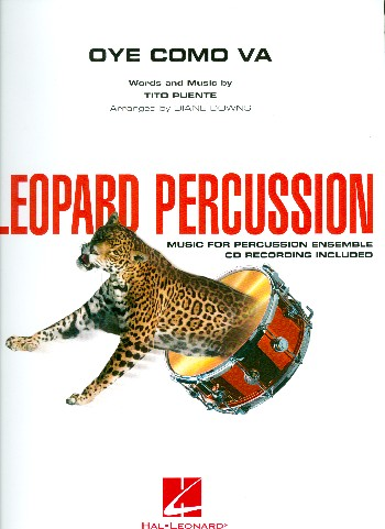 Oye como va (+CD): for percussion ensemble