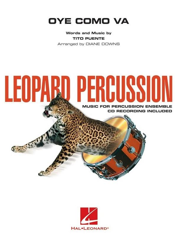Oye como va (+CD): for percussion ensemble