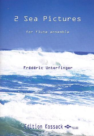 2 Sea Pictures: for flute ensemble