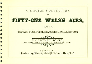 51 Welsh Airs: for keyboard instrument (harp/violin/flute)