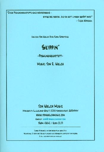 Skippin: for 4 trombones