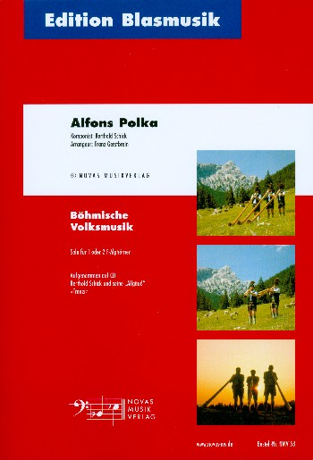Alfons-Polka: für 1-2 Alhörner in F und Blasorchester