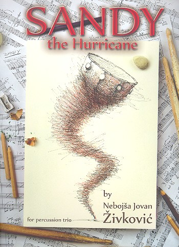 Sandy the Hurricane: for percussion trio