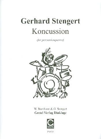 Koncussion: für 4 Percussionisten