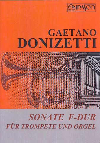 Sonate F-Dur: für Trompete und Orgel