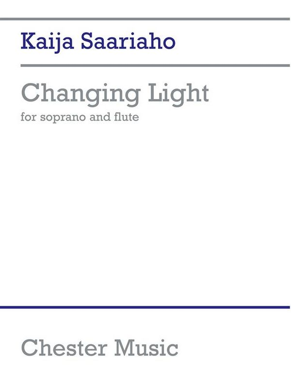 Changing Light: for soprano and flute