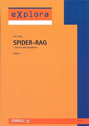 Spider Rag: für Altsaxophon und Blasorchester