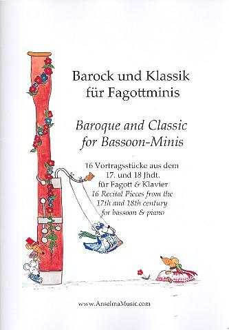 Barock und Klassik für Fagottminis: für Fagott und Klavier