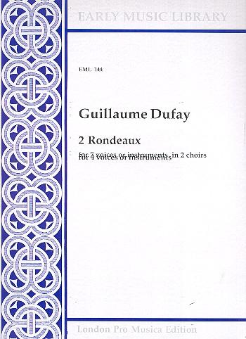 2 Rondeaux: for 4 voices (instruments)