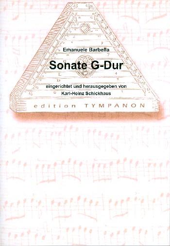 Sonate G-Dur für Hackbrett und Cembalo