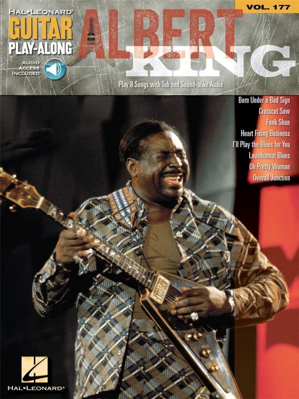Albert King (+CD): Guitar Playalong vol.177 songbook vocal/guitar/tab