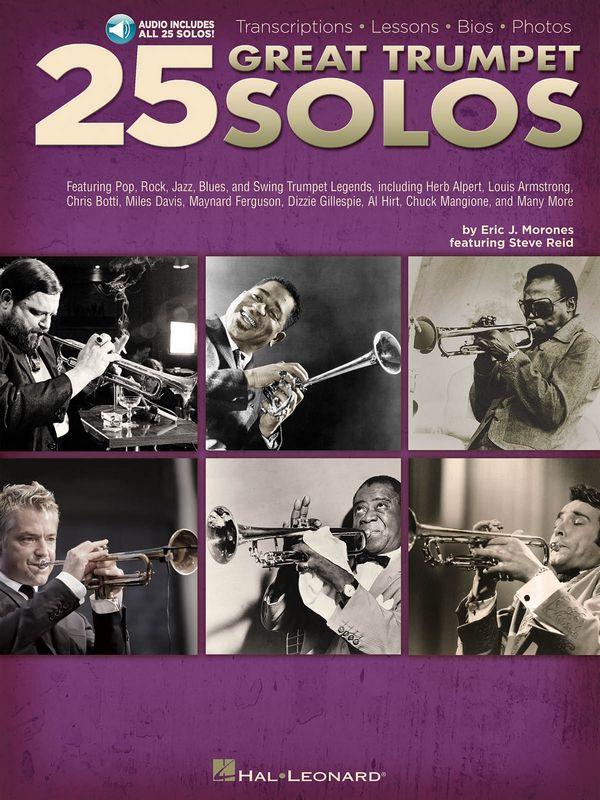 25 great Trumpet Solos (+Online Audio): for trumpet