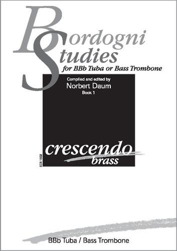 ECR1502 Marco Bordogni, Studies - book I: für B-Tuba