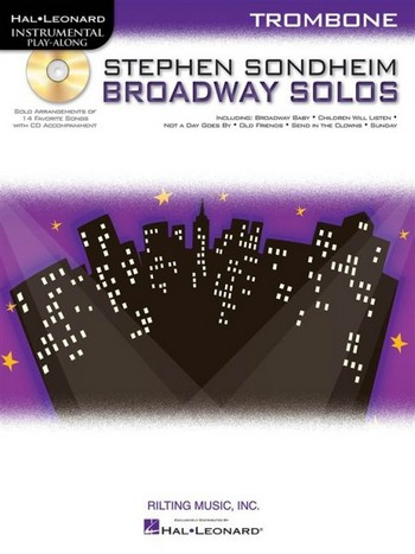 Broadway Solos (+CD): for trombone