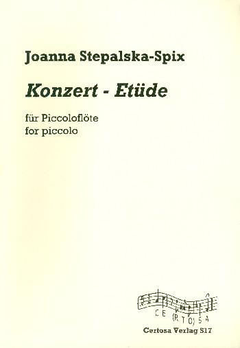 Konzert-Etüde: für Piccoloflöte