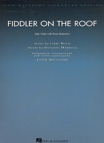 Fiddler on the Roof (Film): for violin and piano