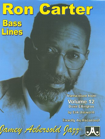 Ron Carter Bass Lines - transcribed from Duke Ellington (vol.12): for bass