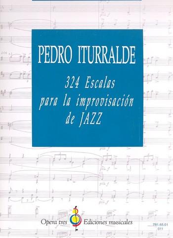 324 Escalas para la improvisación de Jazz