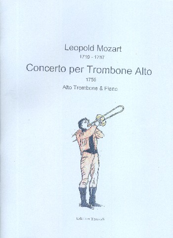 Concerto for Alto Trombone and Orchestra: for alto trombone and piano
