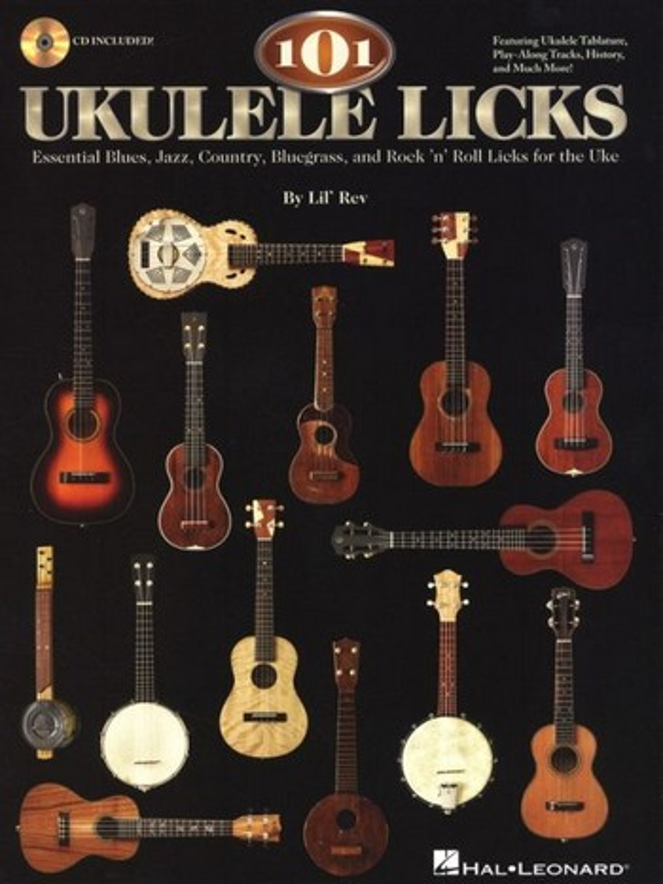 101 Ukulele Licks (+CD): for ukulele/tab