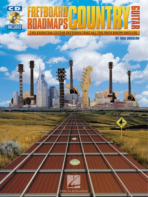 Fretboard Roadmaps Country Guitar (+CD): for guitar/tab