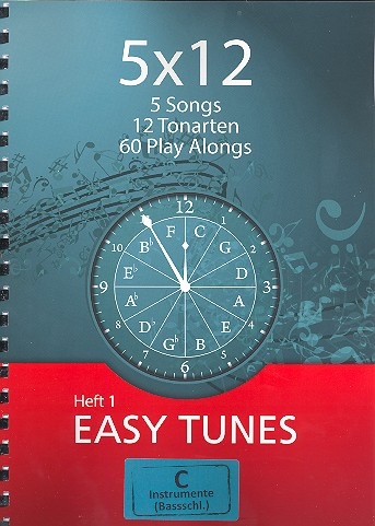 5x12 - Easy Tunes Band 1 (+2 CD\