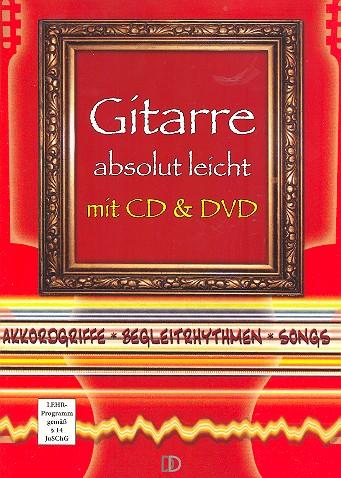Gitarre absolut leicht (+CD +DVD): für Gitarre