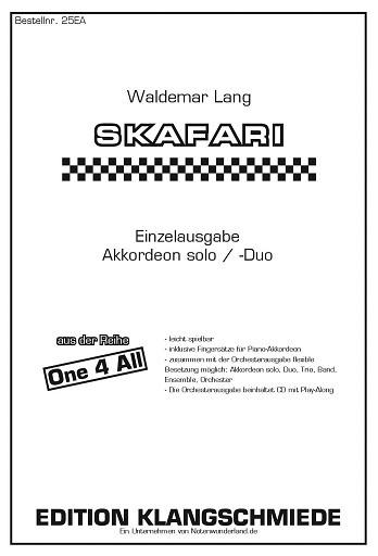 EK25EA Skafari: für 1-2 Akkordeons