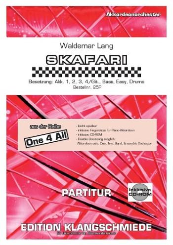 EK25P Skafari (+CD): für 1-x Akkordeons (Ensemble)