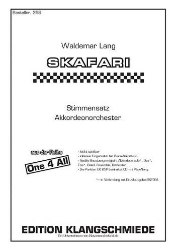 EK25S Skafari: für 1-x Akkordeons (Ensemble)