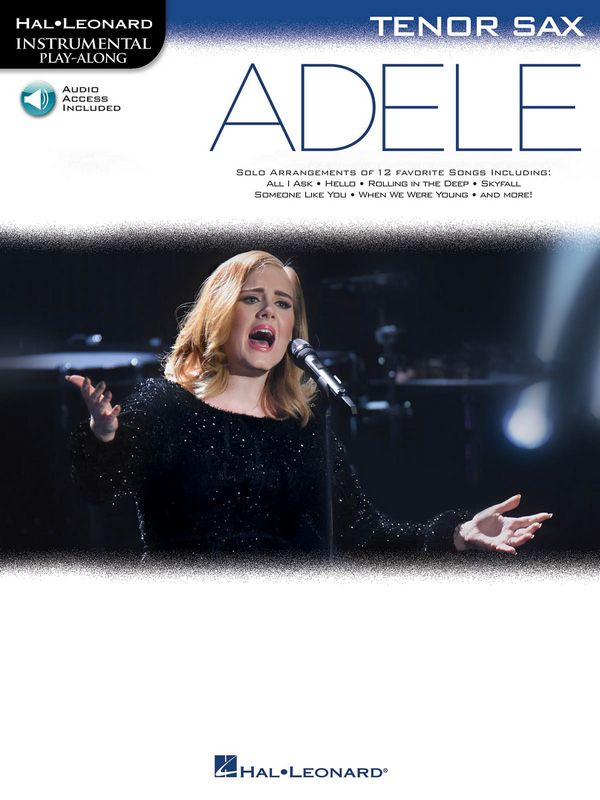 Adele (+Online Audio Access): for tenor saxophone