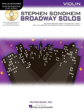 Broadway Solos (+CD): for violin
