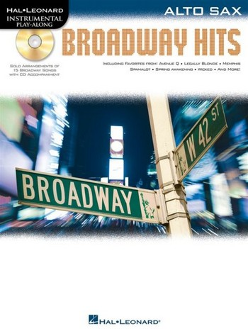 Broadway Hits (+CD): for alto saxophone