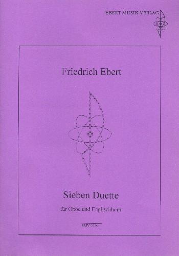 7 Duette: für Oboe und Englischhorn