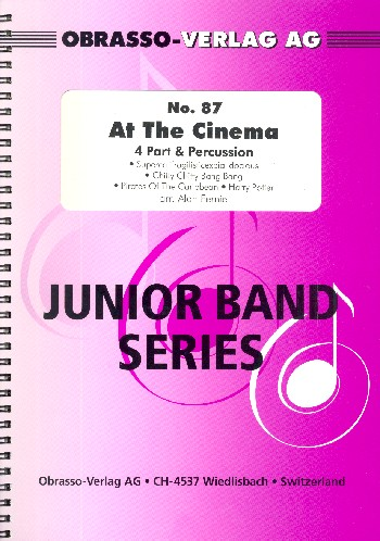 At the Cinema (Medley): for concert band and percussion
