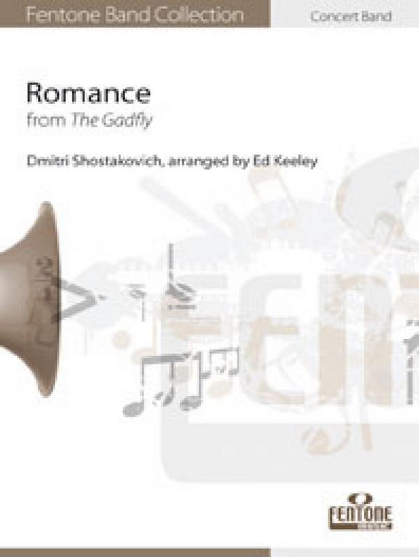 Romance aus The Gadfly: für Altsaxophon und Blasorchester