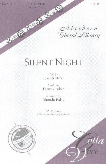 Silent Night: for mixed chorus and piano