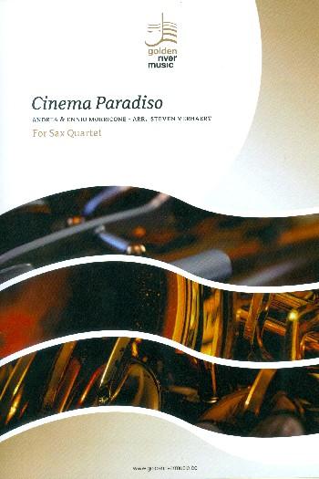 Cinema paradiso: für 4 Saxophone (SATBar)