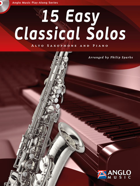 15 easy classical Solos (+CD): for alto saxophone and piano