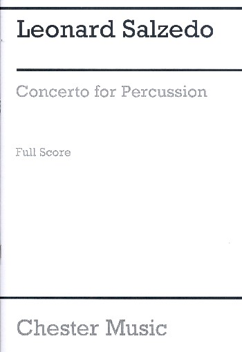 Concerto for percussion opus.74: for 4 percussion players