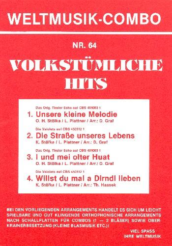 Volkstümliche Hits Band 64: für Combo (Oberkrainer Besetzung)