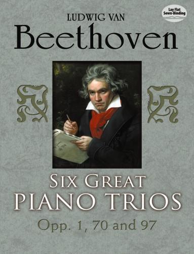 6 great Piano Trios: for violin, cello and piano