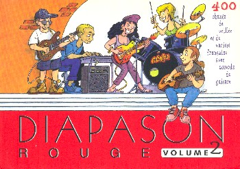Diapason rouge vol.2 songbook lyrics and chords
