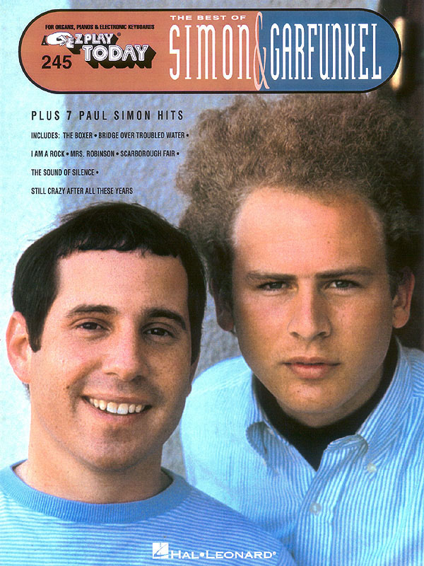 Best of Simon and Garfunkel: for organ (piano or electronic keyboard) with text