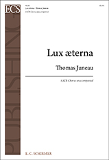 Lux aeterna: for mixed chorus a cappella